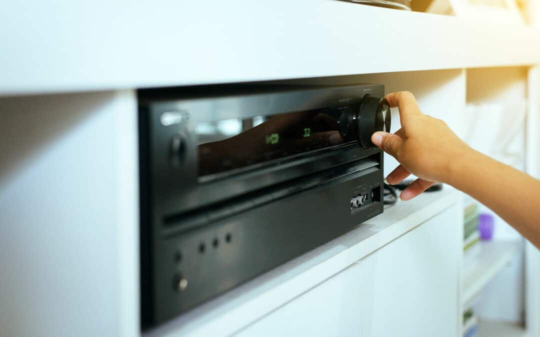 How Much Space Do You Need Around an AV Receiver?